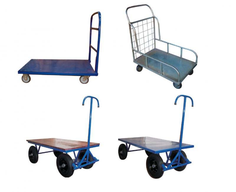 Carrinhos industriais plataforma
