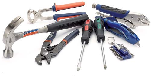 Lojas de venda de ferramentas manuais