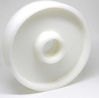 Rodas de nylon para paleteiras