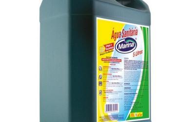 Água Sanitária 5 litros Marina
