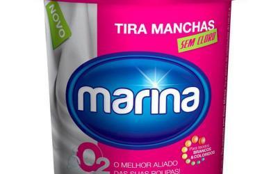 Alvejante Pó Tira Manchas sem Cloro 450 g Marina