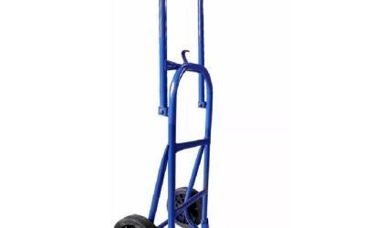 Carrinho Armazém Dobrável Azul 150 kg Reforçado