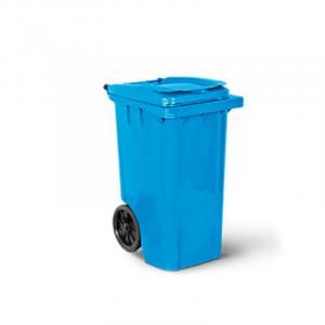 Container 240 litros Diversas Cores com Rodas e Tampa