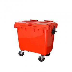 Container 600 litros com Rodas e Tampa