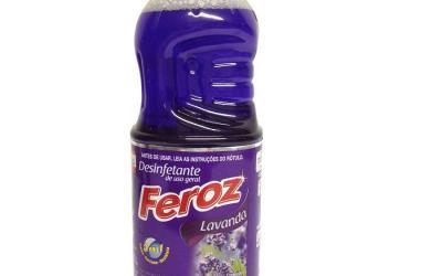 Desinfetante Feroz Lavanda Pronto Uso 2 litros