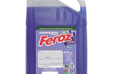 Desinfetante Feroz Lavanda Pronto Uso 5 litros