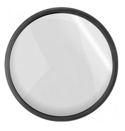 Espelho Convexo 80 cm com borda de Borracha