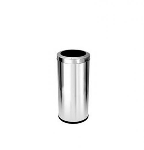 Lixeira Inox com Aro 22 litros Purimax