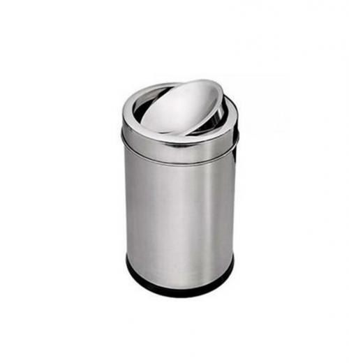 Lixeira Inox com Tampa Basculante 10 litros Purimax