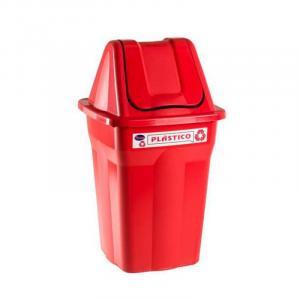 Lixeira Seletiva Basculante Plástico 60 litros Santana