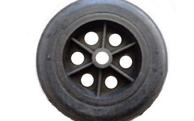 Roda de Borracha Maciça e núcleo de Polipropileno (PRO)