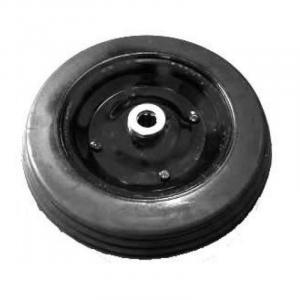 Roda de Borracha Maciça em Chapa 350 x 8