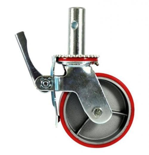 Rodízio GME 62 com Roda de Poliuretano para Andaime