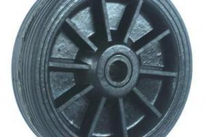 Roda de Borracha Integral Industrial (BIN)