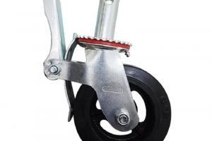 Rodízio GME 62 com Roda de Borracha para Andaime